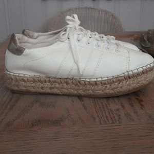 Steve Madden espadrilles platform sneakers 8.5